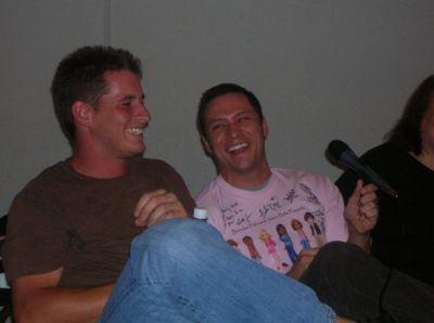 Nick Wechsler and Brendan Fehr