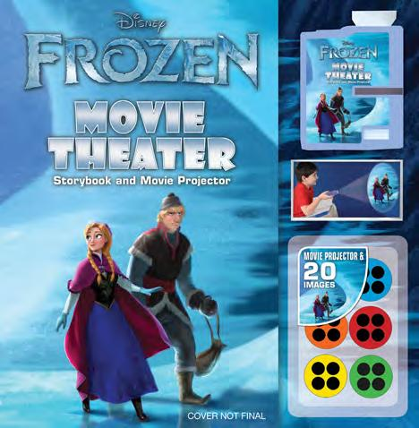 Official Disney Frozen boeken