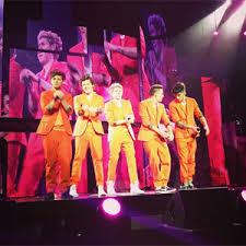 One direction amsterdam laranja show, concerto