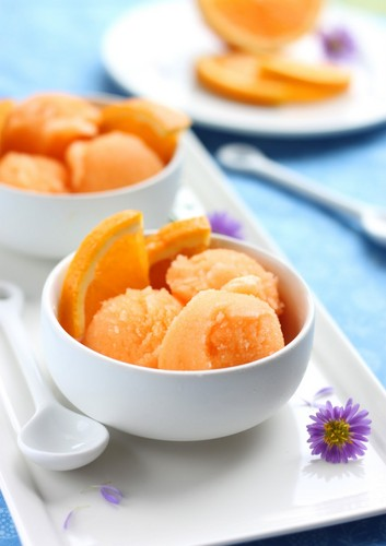 주황색, 오렌지 Sorbet