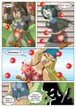 Paintball chaos - total-drama-island fan art
