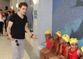 Paul Wesley - Swatch Launches Scuba Libre Days At Chelsea Recreation Center - paul-wesley photo