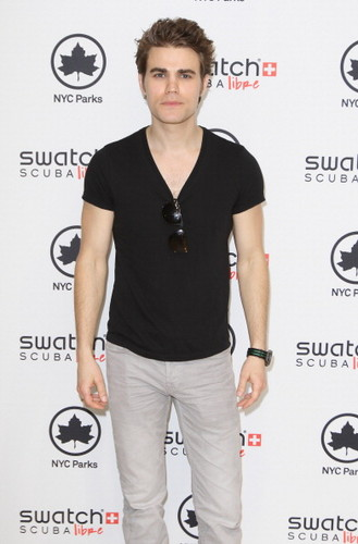 Paul Wesley - Swatch Launches Scuba Libre Days At Chelsea Recreation Center