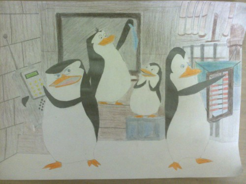 manchot, pingouin HQ