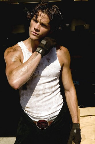 Jared Padalecki wallpaper probably with a hip boot entitled Photoshoot
