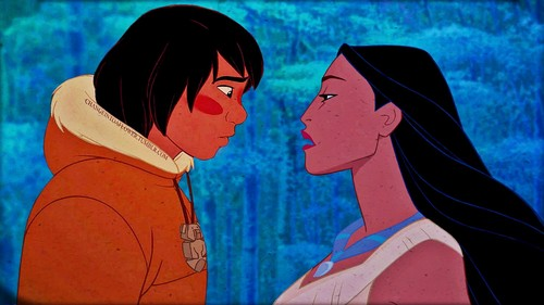 disney crossover achtergrond with anime called Pocahontas/Kenai