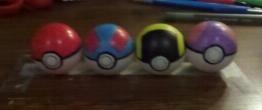 Pokeball ping pong balls