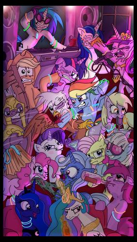 poni, pony Party lol
