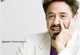 Robert Downey Jr. پیپر وال with a portrait entitled RDJ♥