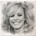 Rachel McAdams drawing - rachel-mcadams fan art