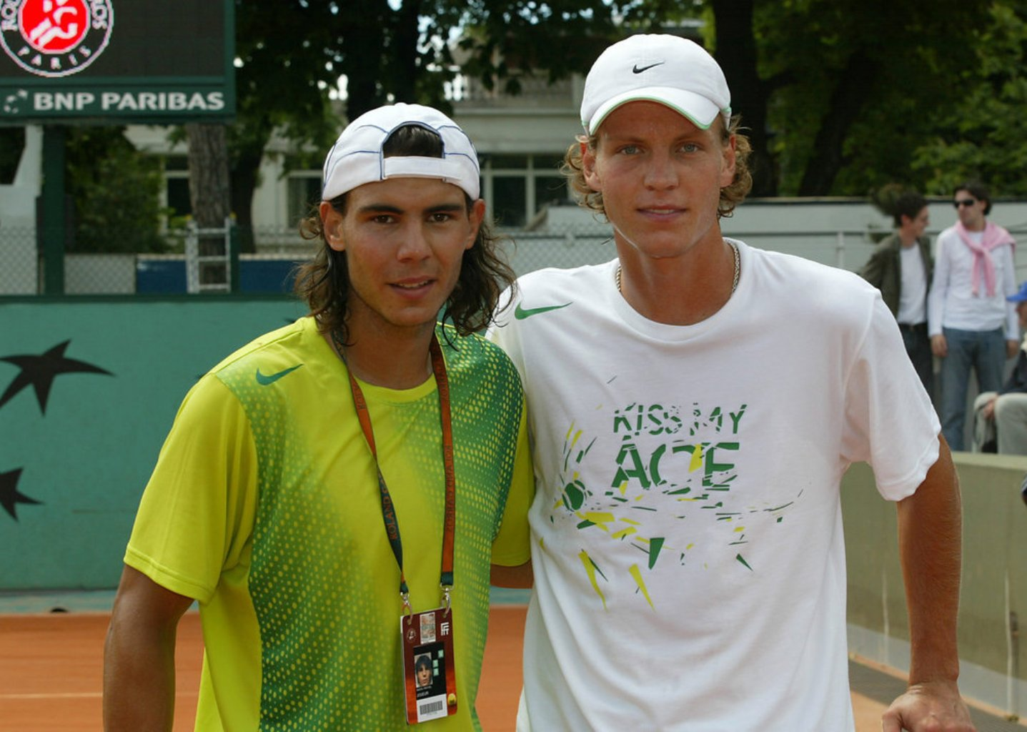 Photo of Tomas Berdych & his friend   Rafa