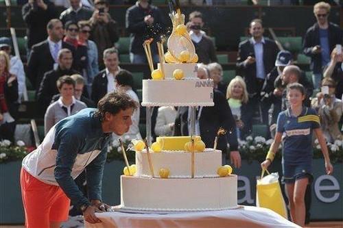 Rafael Nadal 27th birthday