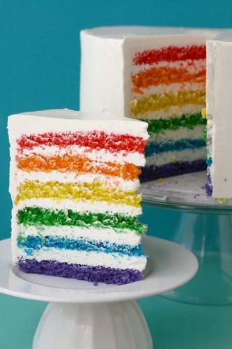 قوس قزح Cake
