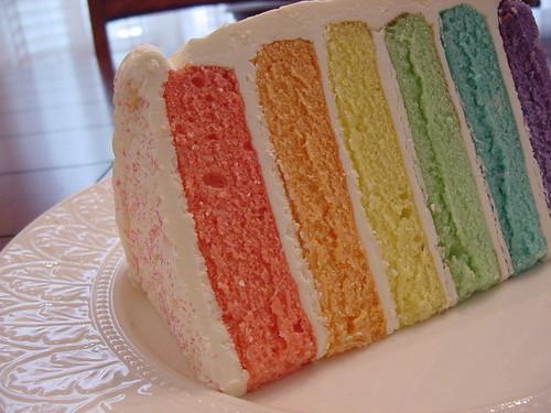 regenbogen Cake