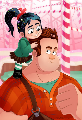 Ralph and Vanellope