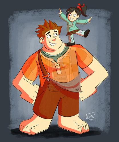 Ralph and Vanellope