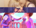Rapunzel and her parents - tangled photo