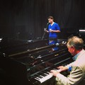 Rehearsing with Phil - damian-mcginty photo