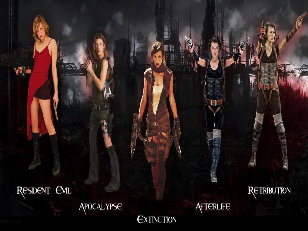 Resident Evil - Resident Evil Movie Wallpaper (34631991 ...