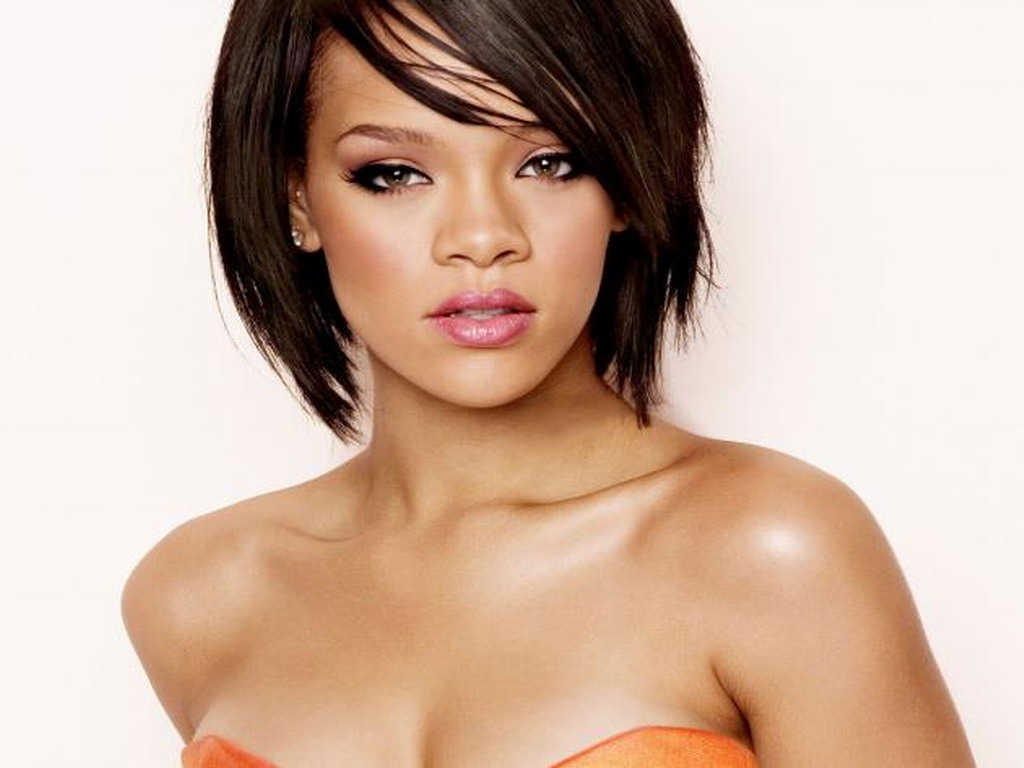 Rihanna  Rihanna Wallpaper (34606910)  Fanpop - Black Bob Hairstyles 2015