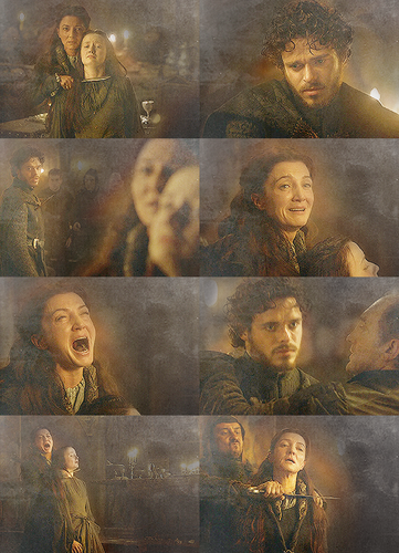 Robb & Catelyn - Red Wedding