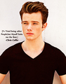 Said by Chris Colfer
