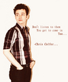 Said by Chris Colfer - quotes photo