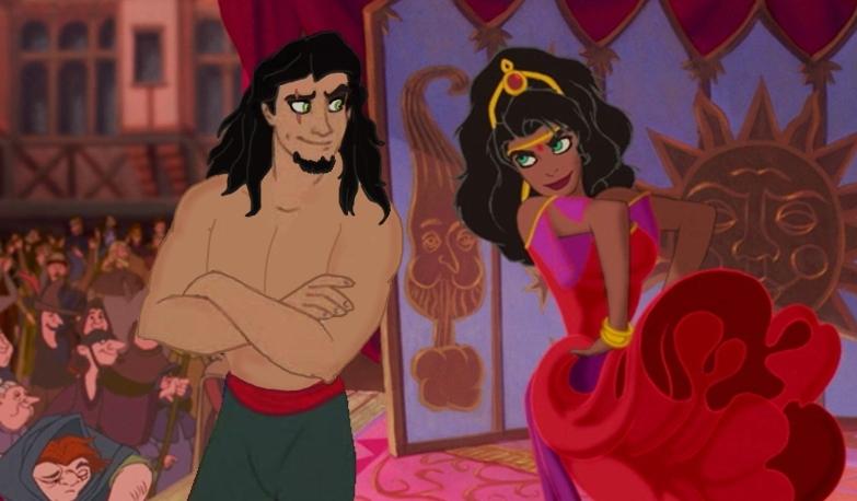 Scar and Esmeralda 2