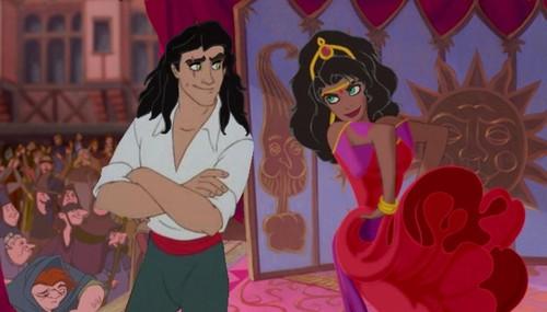 Scar and Esmeralda