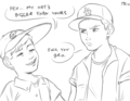 Scotty BIG - the-sandlot fan art