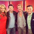Seb & Misha on Mornings  - sebastian-roche photo