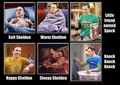 Sheldon's song  - the-big-bang-theory fan art