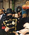 Signing Autographs For The Fans - michael-jackson photo