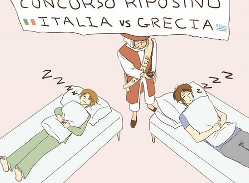 Sleeping Contest~ XD