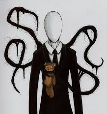 Slenderman and teddy