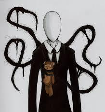 Slenderman and teddy - creepypasta foto (34685324) - fanpop