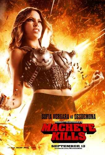 Sofia Vergara as Desdemona in Machete Kills