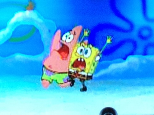 Spongebob & Patrick freaking out