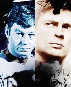 star, sterne Trek - Then and Now