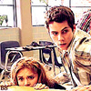 Stiles & Lydia تصویر probably with a green beret, a brasserie, and a bistro کی, bistro called Stiles & Lydia 3x01<3