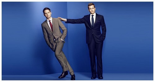 सूट्स - Season 3 Promotional चित्रो - Mike & Harvey