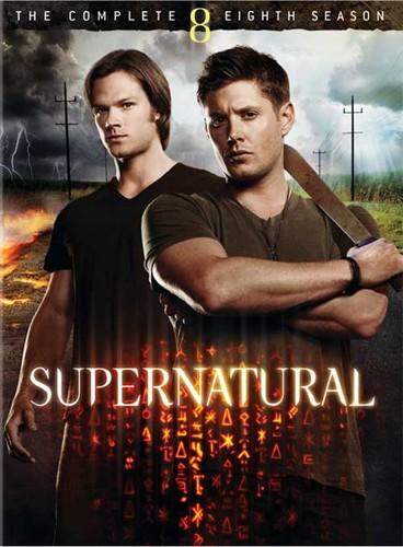 Supernatural season 8 (DVD)