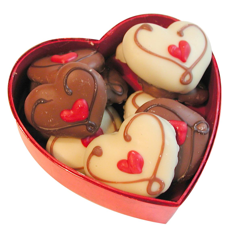 Сердечки из шоколада своими руками