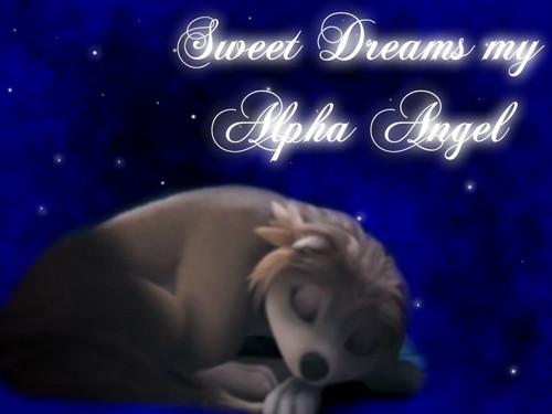 Sweet Dreams my Alpha एंजल