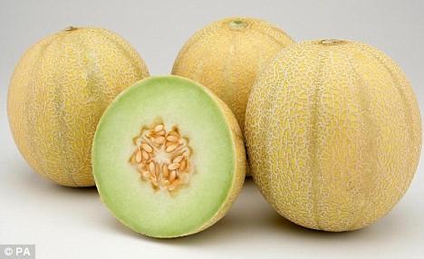 Sweet Green Honeydew Melon