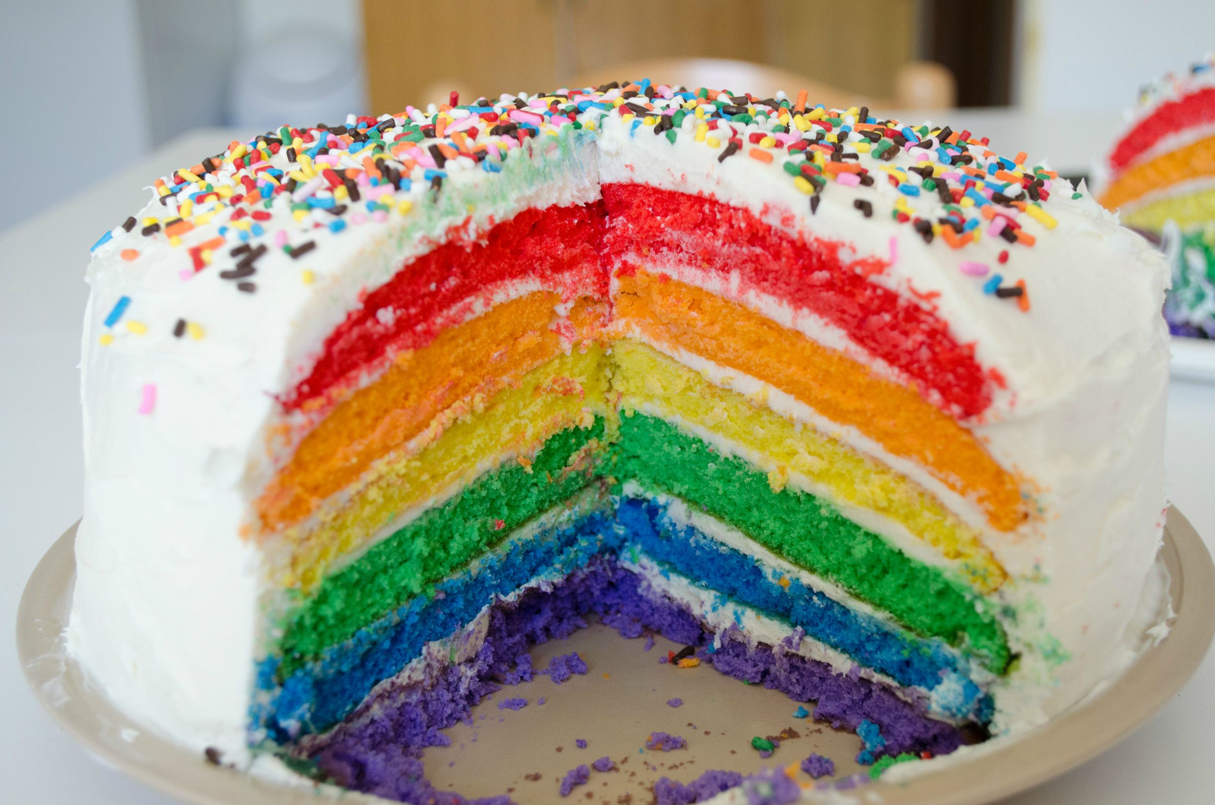 Sweet And Delish Rainbow Cake Colors Photo 34691736 Fanpop