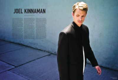 Joel Kinnaman kertas dinding with a business suit, a well dressed person, and a suit entitled THE LAST MAGAZINE - SEPTEMBER 2011