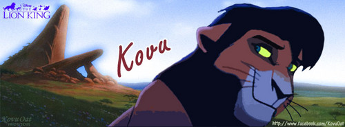 TLK Kovu Lion facebook cover