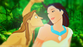 Tarzan/Pocahontas - disney-crossover photo