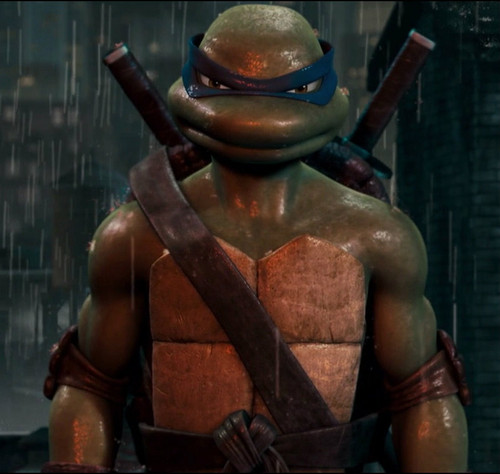 TMNT Leonardo achtergrond containing a breastplate and an armor plate titled The 2007 Leo